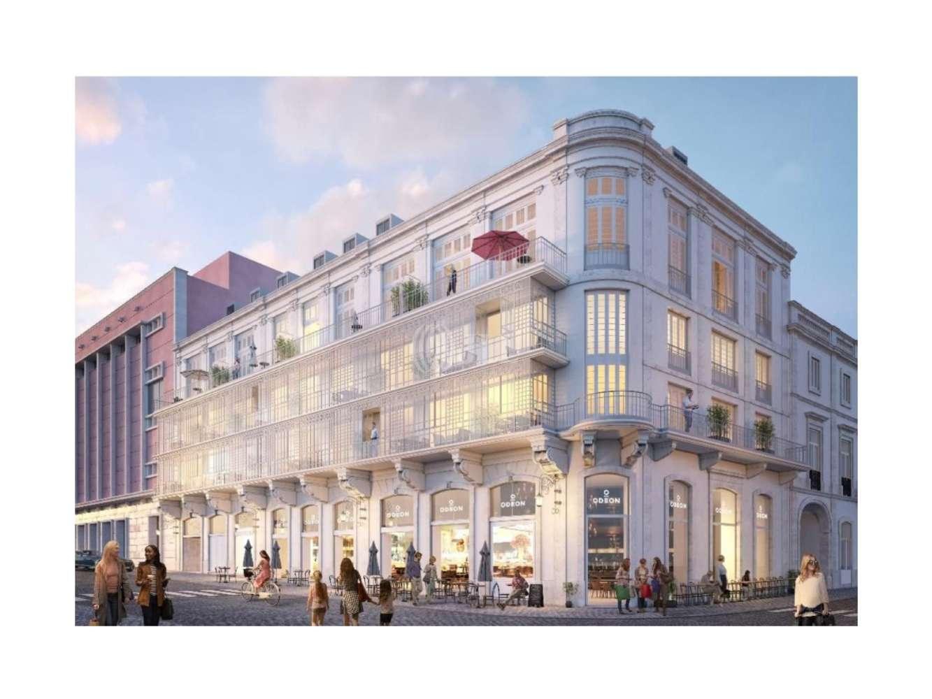 Loja Lisboa,  - Loja junto à Praça dos Restauradores