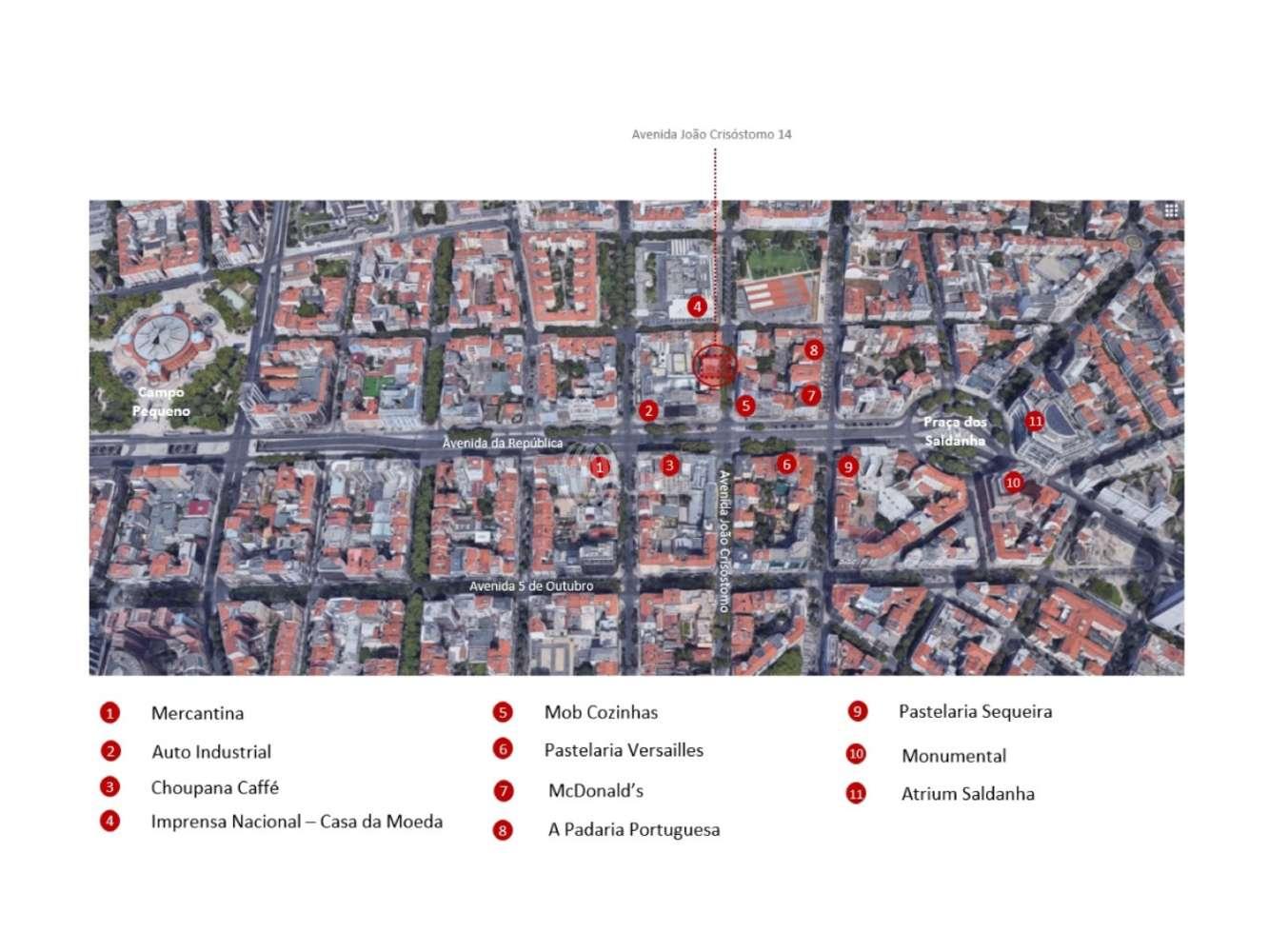 Loja Lisboa,  - Loja na Avenida João Crisóstomo