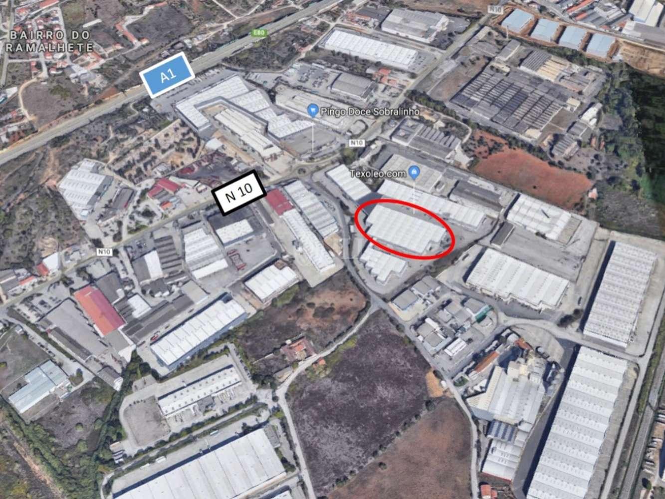 Industrial Vila franca de xira,  - Armazéns Vale d' Erva