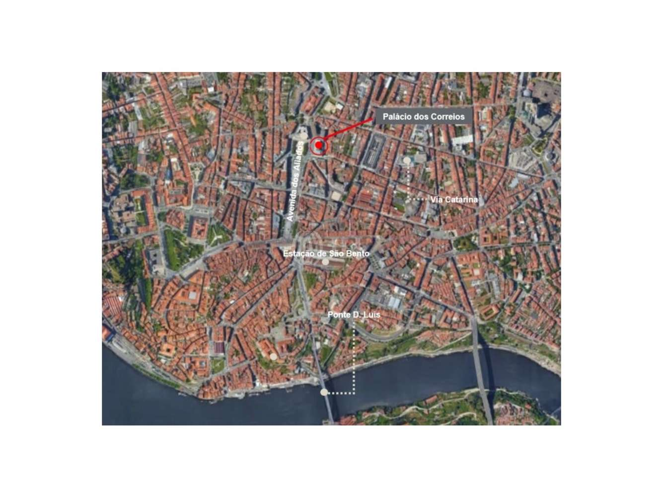 Centro comercial Porto,  - Palácio dos Correios