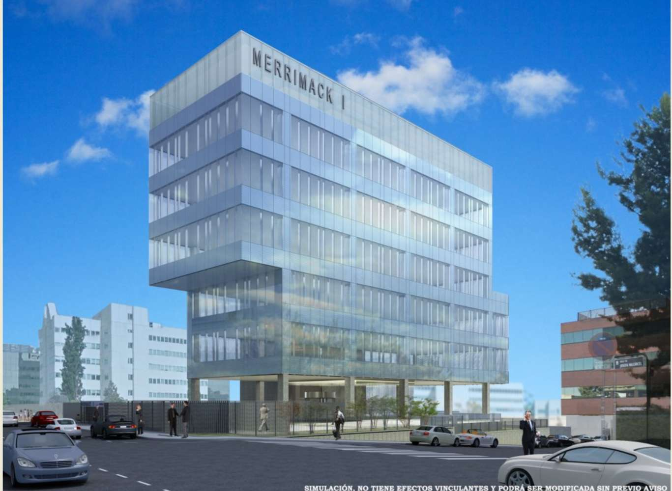 Oficina Madrid, 28027 - MERRIMACK I - 9290