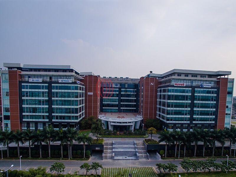 Bagmane tech park laurel block c bengaluru properties for Property site plan software
