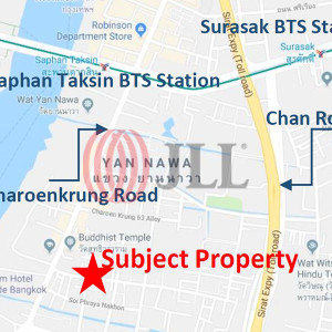Apartment nearby Charoenkrung-Sathorn Road