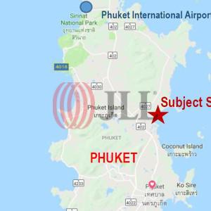 Beachfront land 239-3-55 close to royal Phuket marina