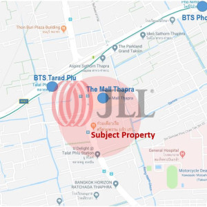 Apartment on Ratchadaphisek-Thapra Road close to BTS Station