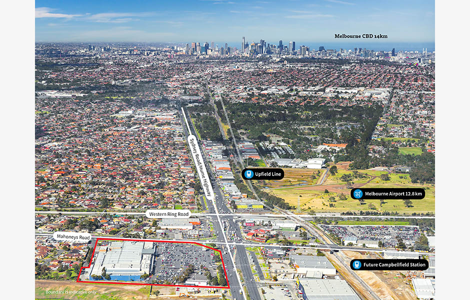 Campbellfield Plaza   Cnr Hume Highway & Mahoney's Road