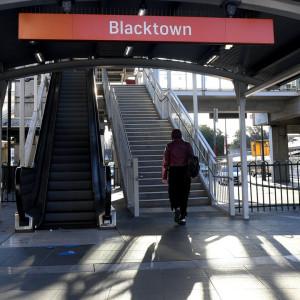 Blacktown Railway Station