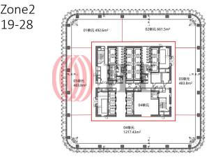 前滩中心_办公室租赁-CHN-P-001M1D-New-Bund-Center_358269_20210106_005