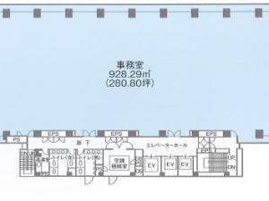 リバーサイド品川港南ビル_オフィス/コマーシャルLease-JPN-P-000FCL-Riverside-Shinagawa-Konan-Building_33364_20180308_001