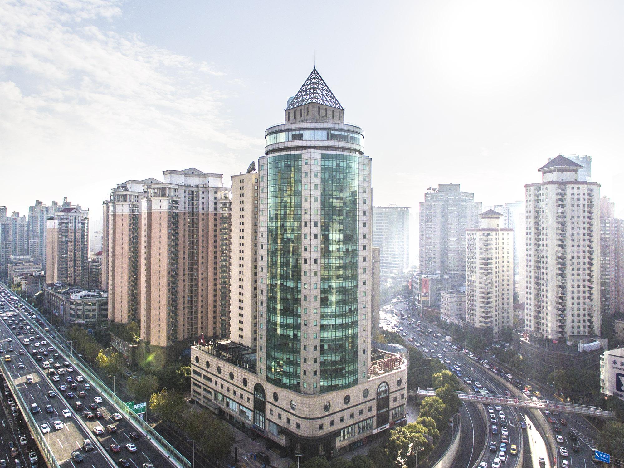 Guangdong Development Bank Building Price Upon Request 555 Xujiahui Road